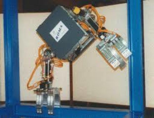 Robot de captación de recipientes