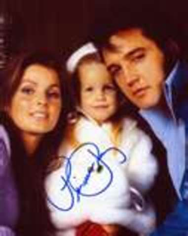 elvis with his wife and kid