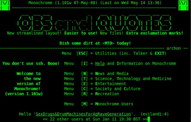 BBS (Bulletin Board Systems)