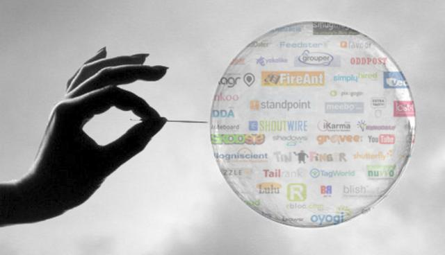 Burbuja de internet