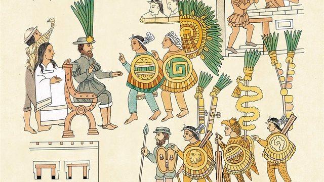 RENDICIÓN DE LOS MEXICAS