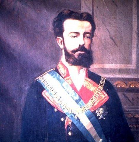 El regnat curt d'Amadeu I (1870 – 1873)