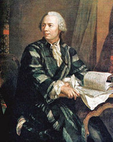Nacimiento de Leonhard Paul Euler
