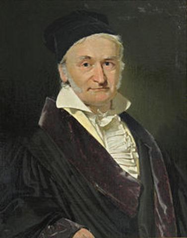 Nacimiento de Carl Friedrich Gauss