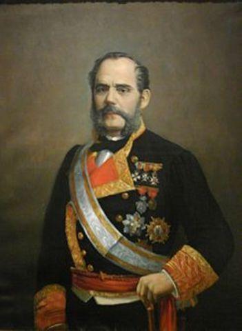 """Pronunciamiento"" del brigadier Topete a Cádiz"