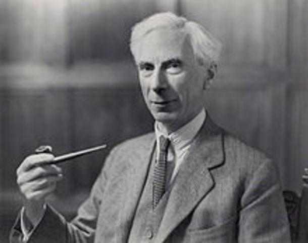 Nacimiento de Bertrand Arthur William Russell