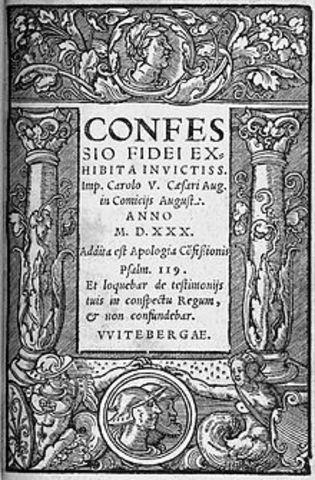 Confesión de Augsburgo.
