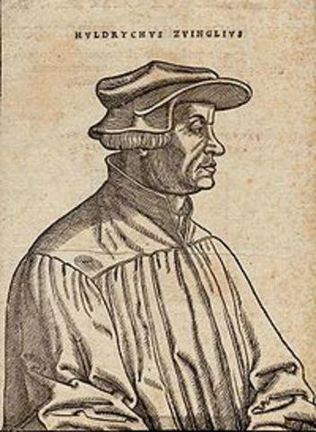Muerte de Zwinglio