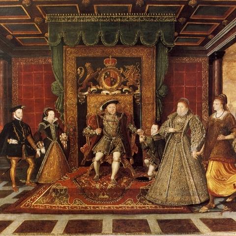 Enrique VIII rompe con Roma.