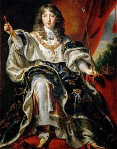XIV. Lajos megkoronázása