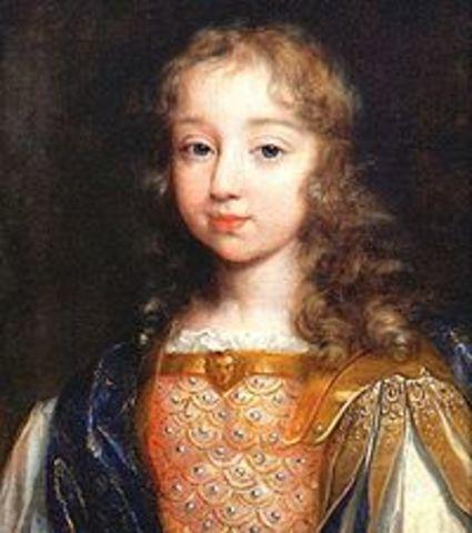 XIV. Lajos trónra lépése