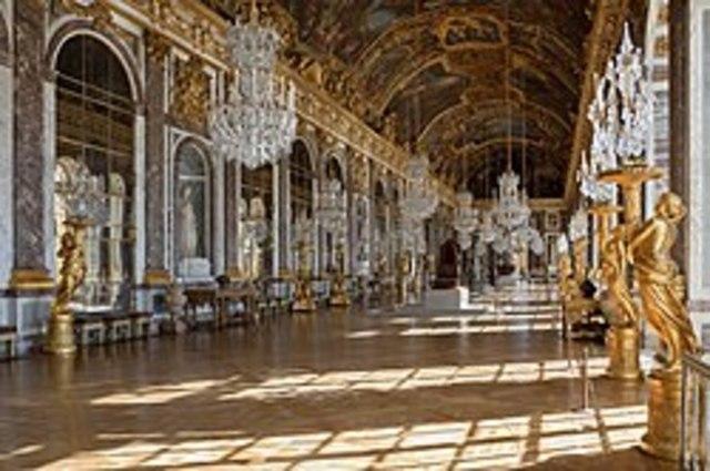 A versailles-i kastély átadása