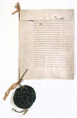 A nantes-i ediktum visszavonása