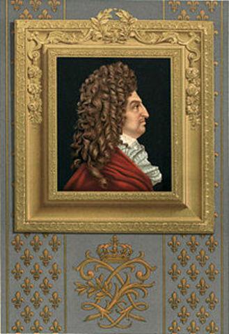 XIV. Lajos halála