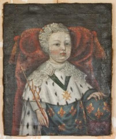 XIV. Lajos születése