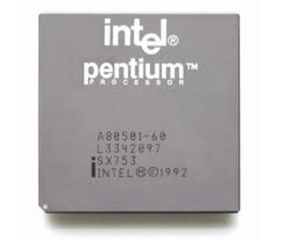 1993 Se inventó el procesador Pentium