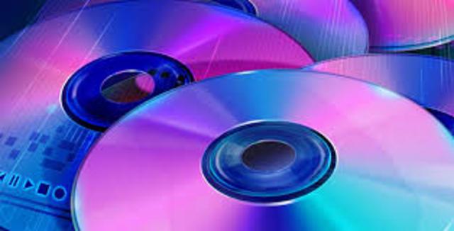 1995 Se inventó el DVD (Digital Video Disc)