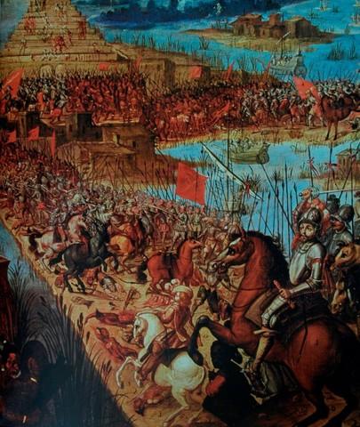 Caida de Tenochtitlán