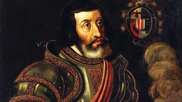 La llegada de Hernán Cortés