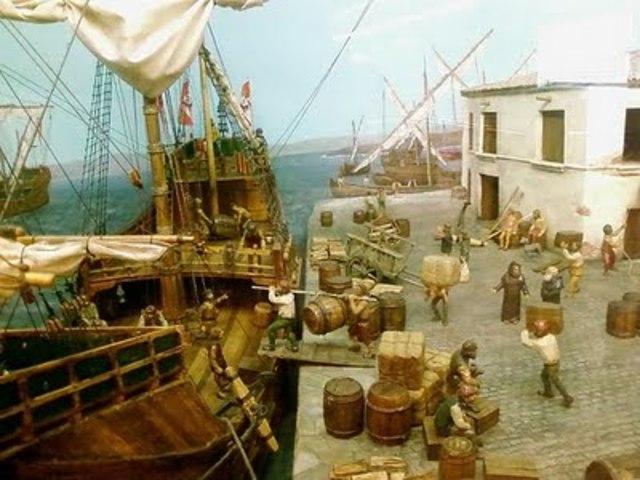 Primera expedición de Cristobal Colón a las Indias