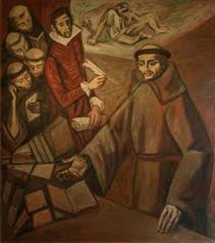 Llegada de los agustinos