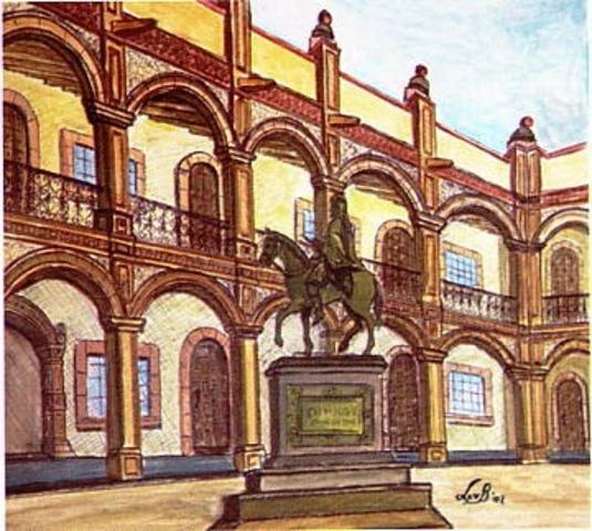 Se fundó la Real y Pontificia Universidad de México