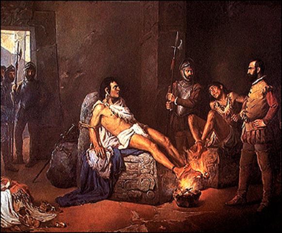 Cuauhtémoc fue hecho prisionero