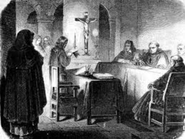 El Tribunal del Santo Oficio en Nueva España