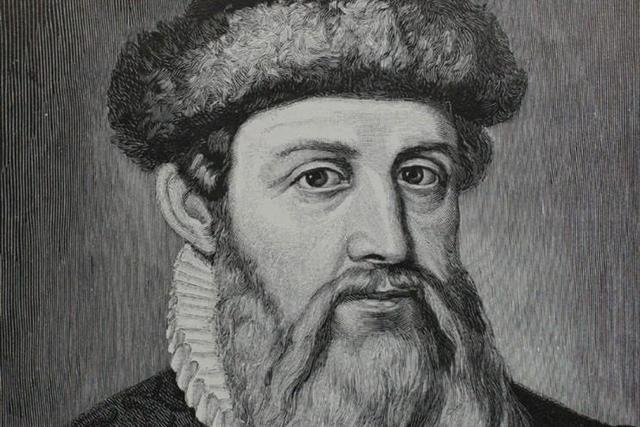 Johannes Gutenberg i la lletra