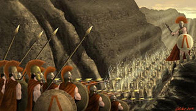 Comienzo de guerras entre Esparta y Persia