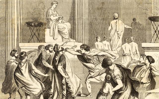 Muerte de Filipo II y le sucede su hijo Alejandro