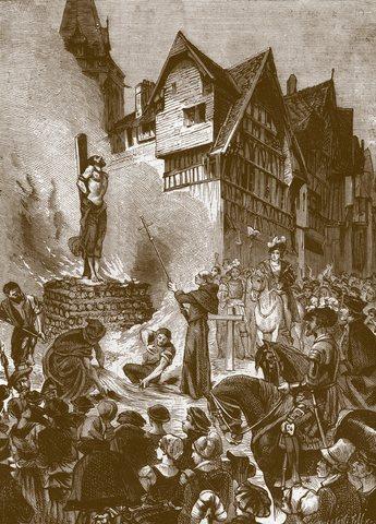 Ejecución en Ginebra de Miguel Servet