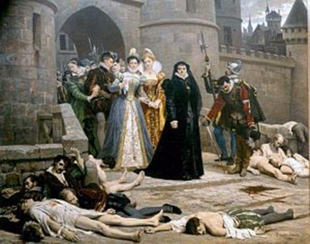 Matanza de la noche de San Bartolomé