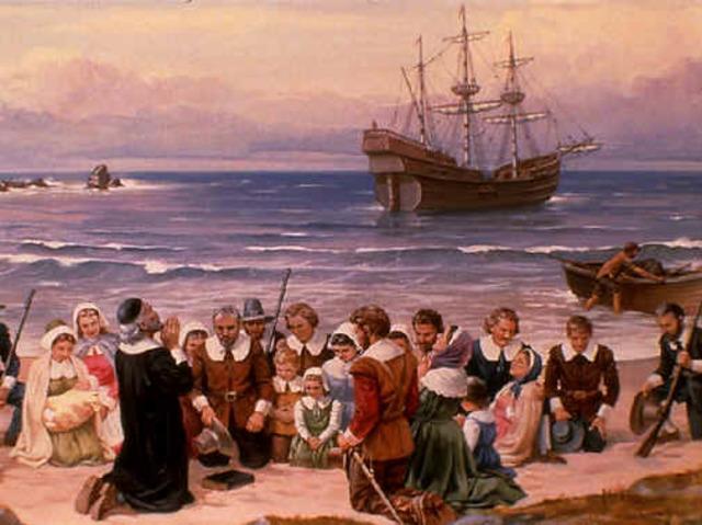 """Peregrinos del """"Mayflower"""""""
