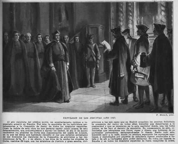 Reorganización de los jesuitas