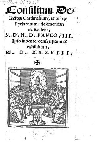 Se establece en Roma el Consilium de emendanda Ecclesia