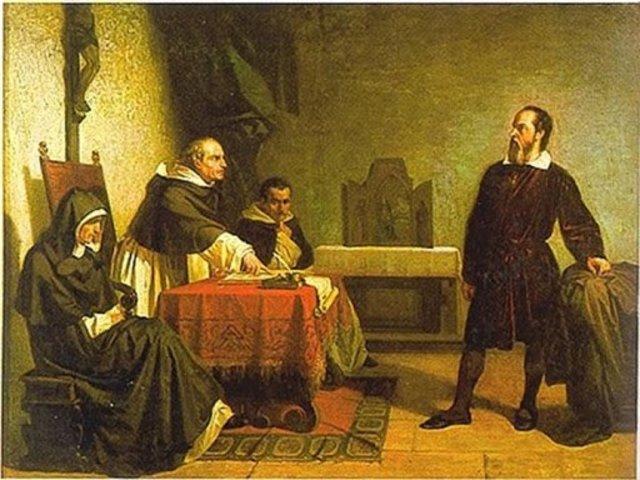 Galileo es obligado a Abjurar