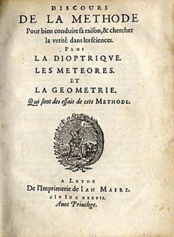 Descartes publica el Discurso del método