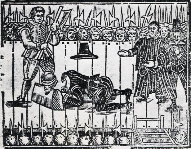 Ejecución de Carlos I de Inglaterra