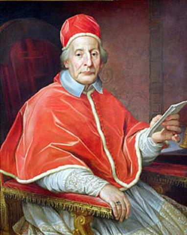 Bula In eminenti de Clemente XII, condenando la masonería