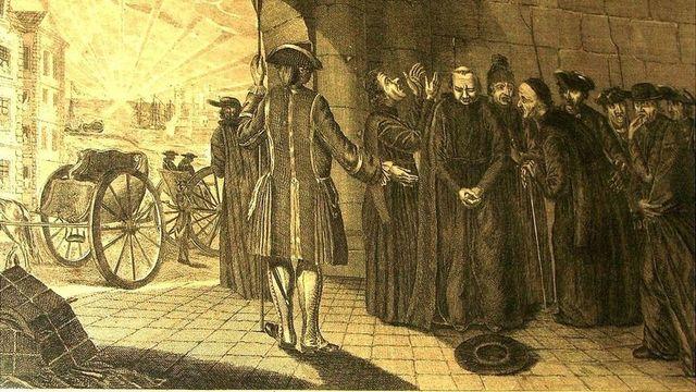 Los jesuitas son expulsados de Francia