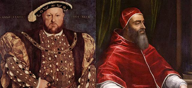 Enrique VIII rompe con Roma