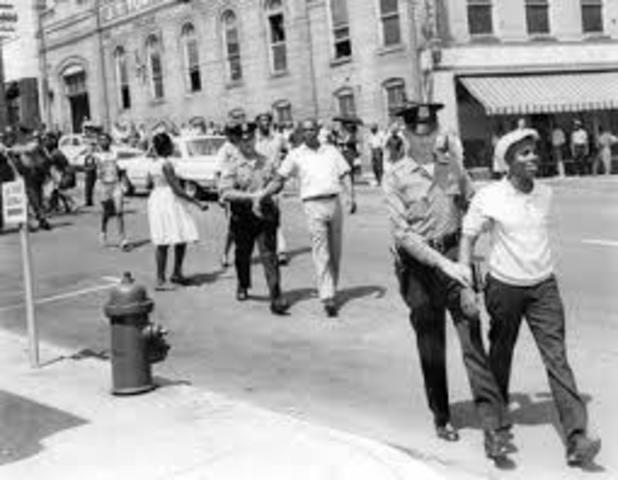 The race riot