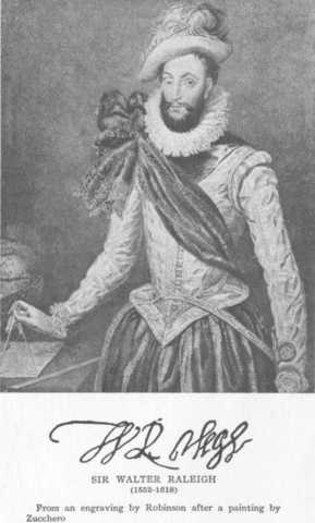 Sir Walter Raleigh sends Samuel Mace on a voyage to North Carolina to search for survivors of the Lost Colony