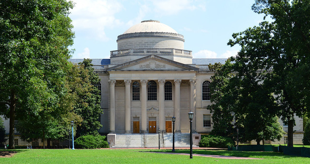 Univ. of North Carolina becomes the nation's first state university