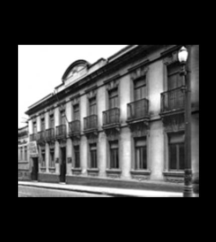 Pinacoteca (Art Gallery), in the 1930's.