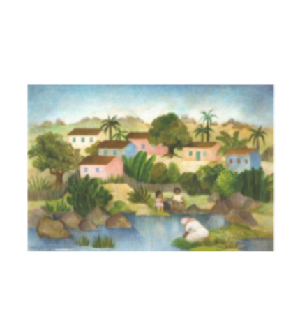 (Landscape with Washerwoman)