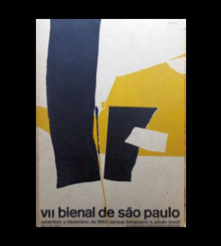 Poster of the VII Biennial of São Paulo