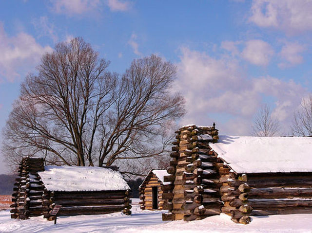 Encampment at Valley Forge