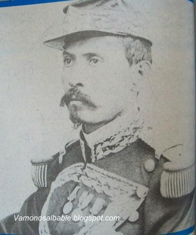 Capitán de infantería.